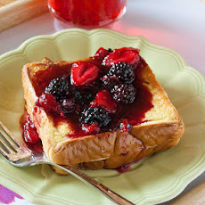 Citrus-Berry Stuffed French Toast