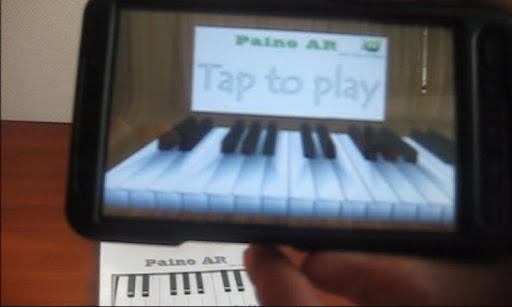 Piano AR Augmented reality