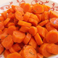 Carrots Glazed in Butter Sauce