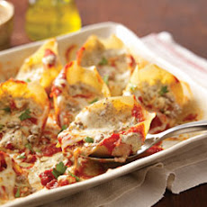 Creamy Pesto-Stuffed Shells