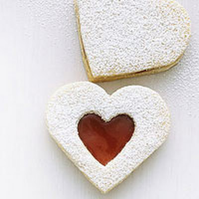 Cornmeal Linzer Hearts
