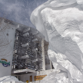 Blizzard by Stanislav Horacek - Landscapes Weather