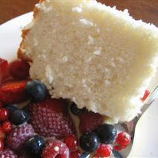 Moist Angel Food Cake