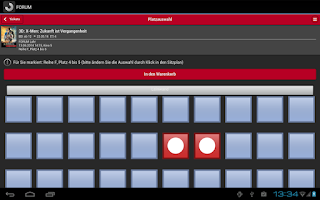 Screenshot of FORUMCINEMAS