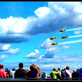 In Plane Sight!   by Dale Carney - News & Events Entertainment ( airplanes, airshows, fun, planes, people,  )