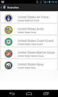Screenshot of Global Military Ranks