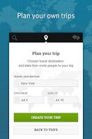 Screenshot of TripTogether: find TravelMate