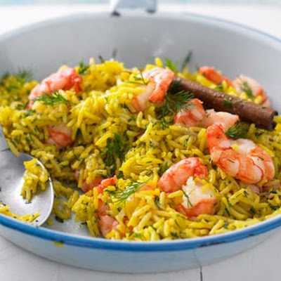 Prawn And Dill Pilaf – Dinner In 30 Minutes