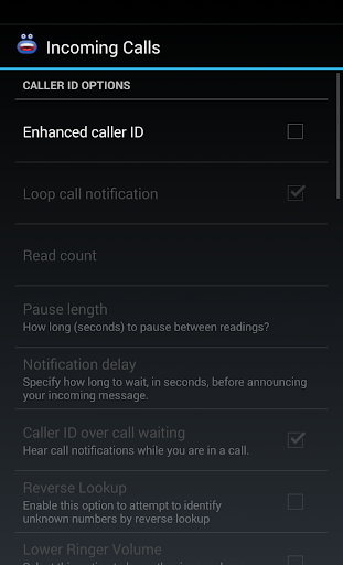 Enhanced Caller ID+ - screenshot
