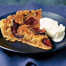 Honey Roasted Fig & Almond Tart