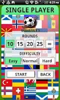 Screenshot of Football Game - Euro 2012
