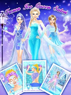 Game Frozen Ice Queen Salon APK for Windows Phone