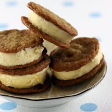 Sugar Cookie Ice Cream Sandwiches