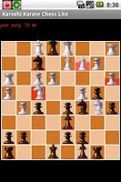 Screenshot of Karoshi Karate Chess Lite