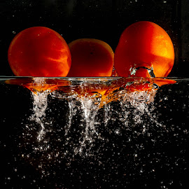 My Tomatoes Splash by Syahrul Nizam Abdullah - Food & Drink Fruits & Vegetables