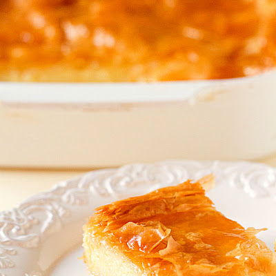 Greek Custard Pie (Galaktoboureko)