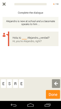 Learn Spanish With Babbel APK screenshot thumbnail 4