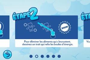 Screenshot of Chasse à l'incruste avec Free