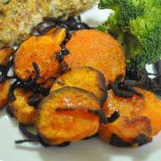 Roasted Sweet Potato Rounds
