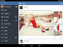 Screenshot of VK