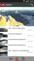 Screenshot of Zugspitze