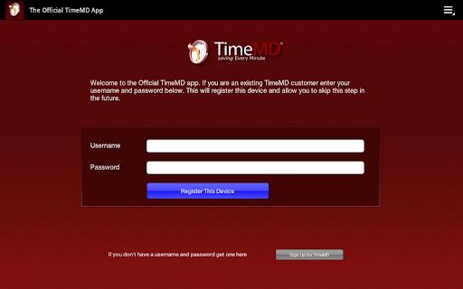 TimeMD App