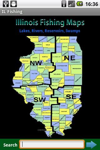 Illinois Fishing Maps - 6.1K