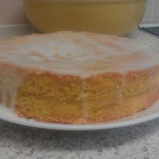 Deliciously Moist Triple Lemon Sponge Cake