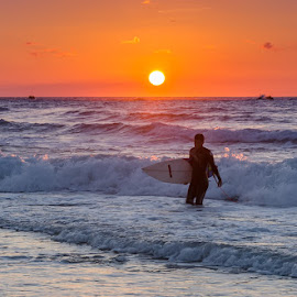 by Tzvika Stein - Sports & Fitness Surfing ( sunset galitz,  )