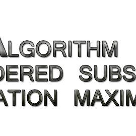 Ordered Subset Expectation Maximization by Sarvajeet Gupta - Typography Quotes & Sentences