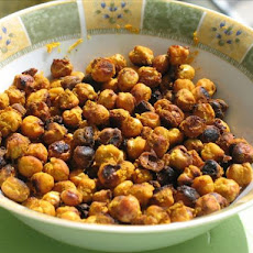 Spicy Chickpea Snack Mix
