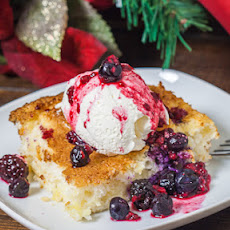 Fat Free Pineapple Angel Food Cake