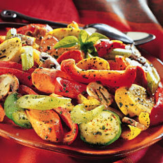 Roasted Vegetables With Creamy Meyer Lemon Dipping Sauce Recipes ...