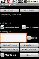 Screenshot of Advance SMS | SMS Manager Full