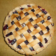 I Miss Bar Harbor Blueberry Pie