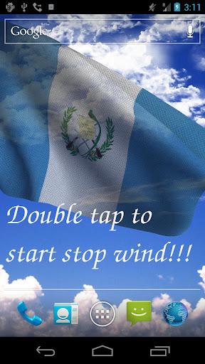 3D Guatemala Flag LWP +