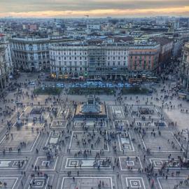 Duomo Plaza Milano by Sérgio Pinto - City,  Street & Park  Historic Districts ( duomo milan milano italy )