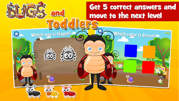 Screenshot of Toddler Games Age 2: Bugs