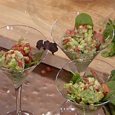 Shrimp, Avocado, and Lobster Cocktail with a Tequila-Cilantro Mayonnaise