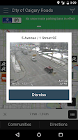 Screenshot of City of Calgary Roads