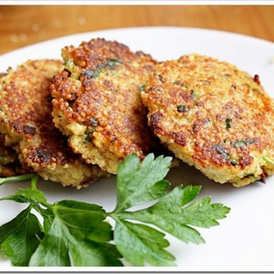 Spring Herb Quinoa Patties