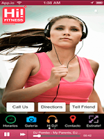 Screenshot of Hi Fitness