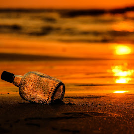 Its Beachy thing by Pratik Joshi - Landscapes Beaches ( sand, nature, sunset, waves, india, beach, rum )