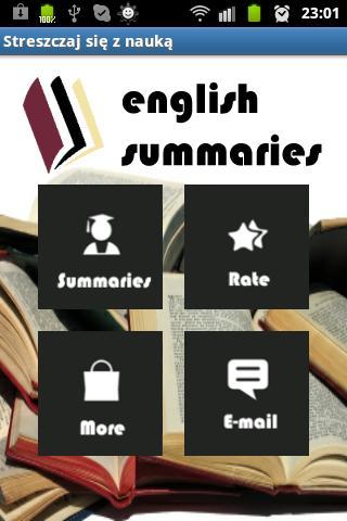 Books Summaries