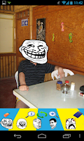 Screenshot of Meme Creator Camera Pro