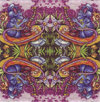 alice lsd blotter art