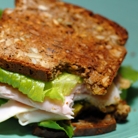 Leftover Turkey Sandwich