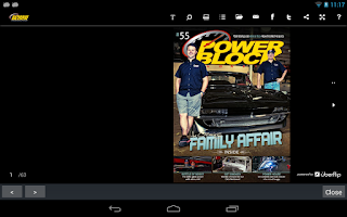 Screenshot of PowerBlock Magazine