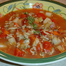 Manhattan Clam Chowder (Quick)