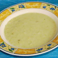French Potato Soup With Leek